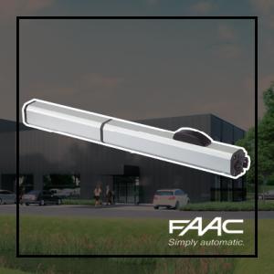 FAAC 400 opbouw draaihekopener