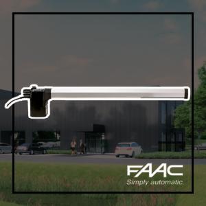 FAAC 412 opbouw draaihekopener