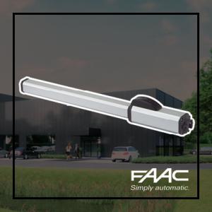 FAAC 422 opbouw draaihekopener