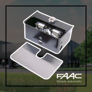 FAAC 750 ondergrondse draaihekopener